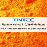 صبغ عضويّة أصفر 110/[إيسيندولينون] لأنّ بلاستيك (أصفر ضارب إلى الحمرة)