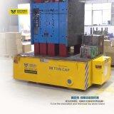 Die Electric Trackless Tráiler de transferencia en la fábrica.