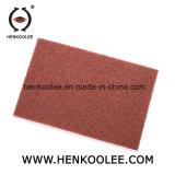 O acabamento de superfície não tecidos pastilhas de mão
