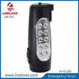 Batteria ricaricabile incorporata dell'indicatore luminoso della torcia del LED