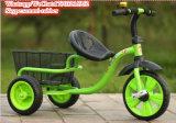 Stahl- und Kunststoff-Dreirad für Kinder