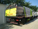 Vrachtwagen van de Straatveger van het Ontwerp van Dongfeng 4X2 de Nieuwe Droge Vacuüm voor Zand