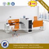 Poste de travail droit de personne des meubles de bureau de certificat 4 (HX-UN006)