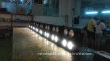 暖かく白く及び白い装置4つの目4X100Wの穂軸DMX LEDの視覚を妨げるものライト