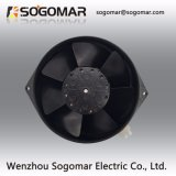 172x150x55mm ventilador axial 220VAC com rotores metálicos do tipo de terminal