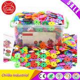 Filhos de brinquedos educativos Puzzle floco de plástico