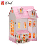 Wholesale Fairy Dream Wooden Doll House with Education