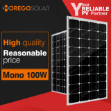 Изготовления панели солнечных батарей серии Mono 12V 100W Mg Moregosolar в Китае