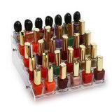 Suporte de cores de unhas de acrílico caseiros para Decoração de Natal