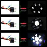 """7의 둘레에 12V 24V """" 지프를 위한 점 Emark를 가진 LED 헤드라이트"""