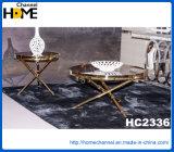 Redonda jantar da mobília Home moderna com mármore (HC2305)
