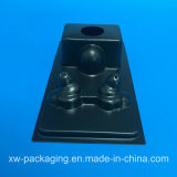 Cassetto di plastica del nuovo nero di stile per l'imballaggio della bolla del hardware