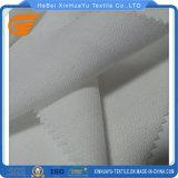 Fabbricazione scrivente tra riga e riga scrivente tra riga e riga scrivente tra riga e riga della resina fusibile del tessuto dell'indumento del cotone e del poliestere