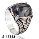De nieuwe Model Zilveren Ring van Juwelen voor de Fabriek Hotsale van de Mens
