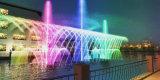 Fuente flotante del laser de la fuente musical del equipo de la hospitalidad