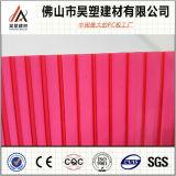 Lexan 공장 가격 Foshan 제조자 쌍둥이 벽 폴리탄산염 구렁 장