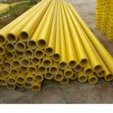 Usine de fournir la meilleure qualité, prix le plus bas FRP Extrusion profiles. Tube rond de PRF, tuyaux en fibre de verre yl-022