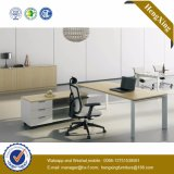 최신 인기 상품 형식 사무용 가구 유리제 최고 사무실 책상 (HX-NJ5015)