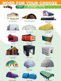 Struttura enorme della tenda della cupola dell'aria di figura gonfiabile della barca a vela