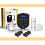 Ademco dual GSM + PSTN del sistema de alarma de seguridad en el hogar con la superficie táctil y Voz