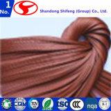 Tela de nylon material esquelética de la cuerda del neumático de la alta calidad