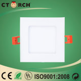 Iluminación del panel cuadrada de la venta al por mayor 12W Dimmable LED del surtidor de Ctorch China