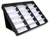 Carrinho da caixa da bandeja do indicador de 18 vidros de Sunglass Eyewear da parte