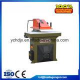 máquina que corta con tintas del oscilación 20t del papel de lija hidráulico del brazo