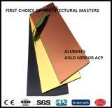 los 1220 * 2440 * paneles compuestos 3mm*0.21aluminum para el revestimiento de la pared