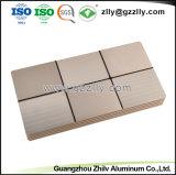 Disipador de calor para extrusión de aluminio anodizado con audio del coche y de mecanizado CNC