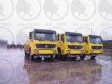 Sinotruk HOWO 4X4 10, 000L de Vrachtwagen van de Tanker van de Brandstof