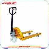 Hot vender Transpaleta hidráulica manual con una capacidad de 2000kg.