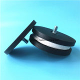 N35 - N52 Forte Pot revestido de borracha ímãs de neodímio ímãs Redondo22 31 36 43 66 88mm