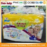 2개의 색깔 면 Backsheet 마술 테이프를 가진 처분할 수 있는 아기 기저귀