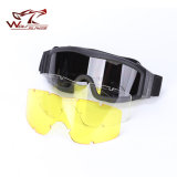 Óculos de combate militares táticos para Paintball Hunting Shooting Safety Glasses