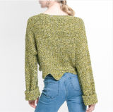 스웨터 스웨터가 2017명의 새로운 형식 숙녀에 의하여 누전한다
