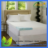 Cubierta de colchón impermeable de bambú respirable