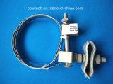 Струбцина вводного провода от антенны для кабеля Opgw/вспомогательного оборудования Opgw