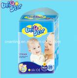 공장 Beathable Panty 처분할 수 있는 서류상 기저귀 Drypers 기저귀, 중국에 있는 아기 제품, 귀여운 Didposable 아기 기저귀