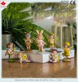 Decorazione leggiadramente del Figurine di piccolo disegno miniatura leggiadramente animale di Polyresin