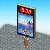 LEDスクリーンとの二重側面の広告のMupi Lightbox