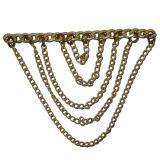 Hebilla de encargo del metal del diamante, accesorios del zapato de la decoración del alto talón