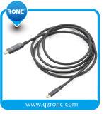 HDMI 24K 60Hz USB C에서 HDMI 케이블에 6개 FT/2m USB-C 3.1