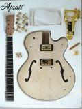 Nécessaire creux de guitare électrique de matériel d'or de corps d'Afanti DIY