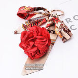 Fashion Flower Accessories Gift Key Chain Hot Salts Decoration for Handbag From China FT070