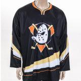Service d'ODM Sportswear le pignon de la sublimation maillot de hockey sur glace des hommes