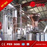 línea destilador de la maquinaria de la producción de la cerveza del equipo de la cerveza 1000L de la vodka