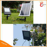 L'extérieur de la sécurité LED solaire IRP Powered jardin du capteur de mouvement Mur lumière crue