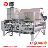 Precio de fábrica de la prensa de filtro de la correa de Thicknening del tambor de Dny