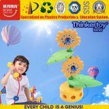 2017 brinquedo do edifício DIY da flor plástica inteligente das crianças mini